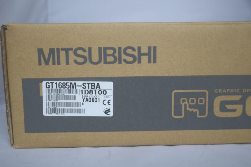 三菱電機 GT1685M-STBA 表示器 GOT タッチパネル 買い取りました
